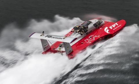 Motorbåt med Alfa Lavals kylsystem krossar världsrekordet