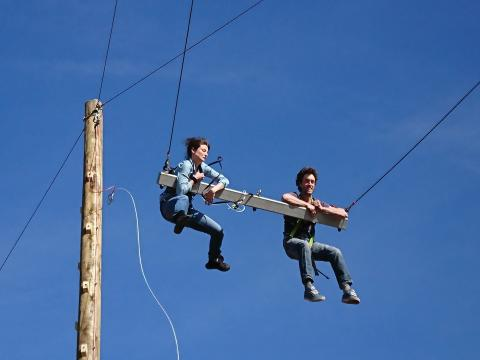 Swing into action at Galloway Activity Centre