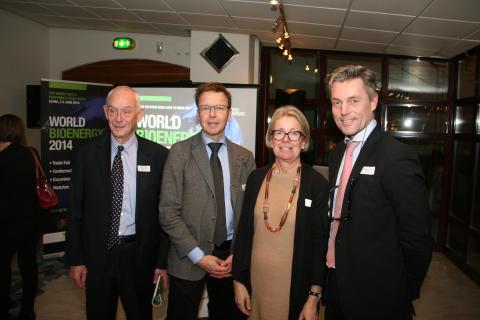 39 ambassader informerade sig om möjligheterna - Stort internationellt intresse för bioenergi