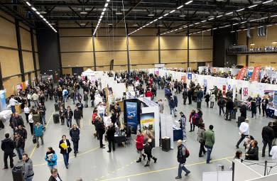 Jobbmässa på Conventum arena i Örebro