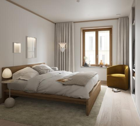 Cederhusen sovrum