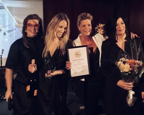 Skovarumärket Scorett utsedd till Årets Omnikanal på Habit Modegalan