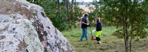 Arkeologisk markradarundersökning vid Askeberga - påbörjas 7 februari