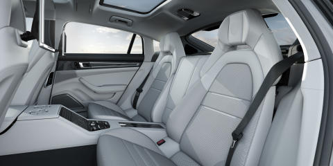 Interior Panamera Turbo Executive