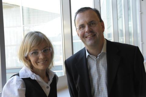 Mentorpar: Kristina Theander och Claes Linusson