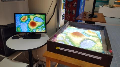 KIS FIRST IN THAILAND TO INSPIRE STUDENTS WITH AUGMENTED REALITY SANDBOX