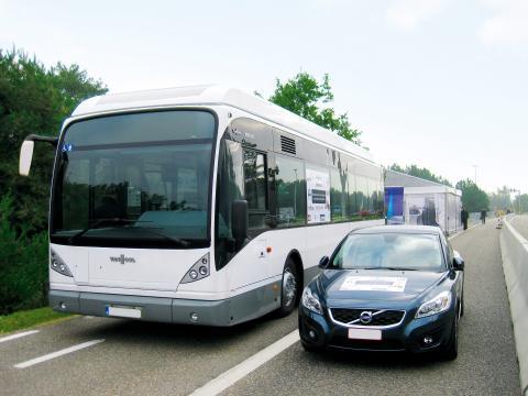 PRIMOVE buss och personbil