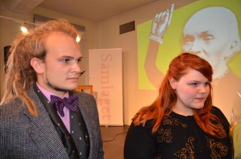 Jostein Avdem Fretland og Mariell Øyre