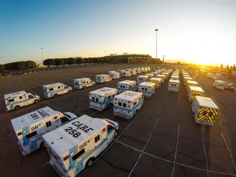 Falck renews ambulance contracts in Southern California