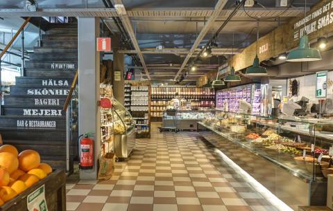 Paradiset översikt butik