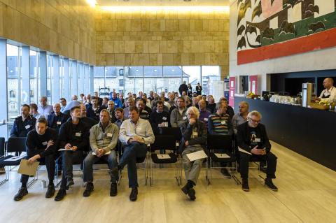 Vox Pop: To hurtige til deltagerne ved KNX-seminar