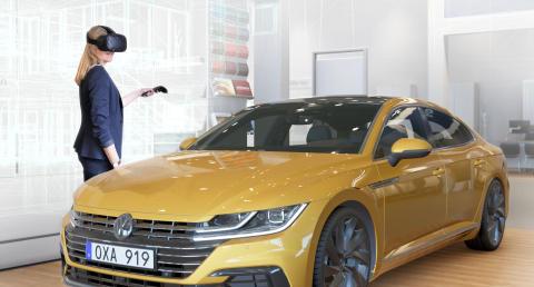 Volkswagen väljer VR-teknik för att sälja nya Arteon