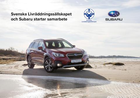 Svenska Livräddningssällskapet och Subaru startar samarbete