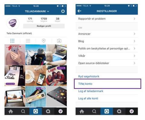 Endelig! Nu kan du administrere flere konti på Instagram