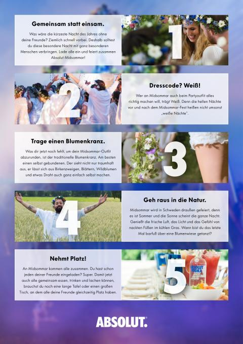 Absolut Midsommar 10 Rules