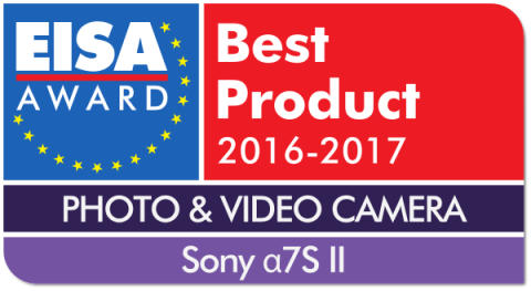 EUROPEAN_PHOTO_VIDEO_CAMERA_2016-2017_-_Sony_7S_II_Logo_mit_Shadow
