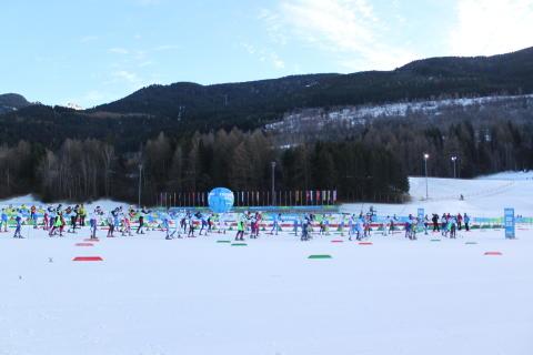 Skiathlon inledde längskidtävlingarna i Universiaden i Trentino
