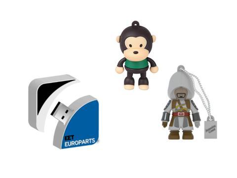 Uanede muligheder med specialfremstillede 3D USB-sticks