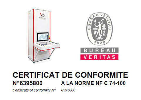 VisiConsult receives NF C 74-100 certification for the French market