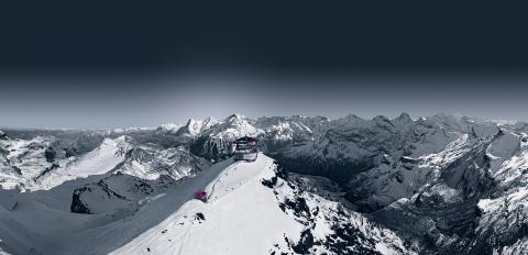 Panorama Schilthorn Winter