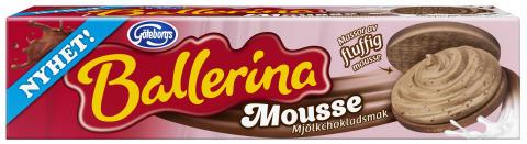 Nu kommer chokladmousse på Ballerinas vis!