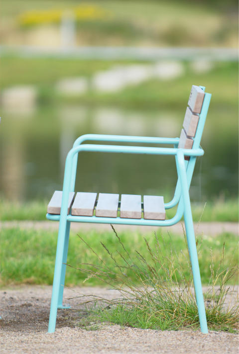 Blå soffa,  NATiON + KSA DESIGN + Møller & Grønborg