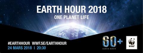 Pressinbjudan: Karlshamns kommun uppmärksammar Earth Hour