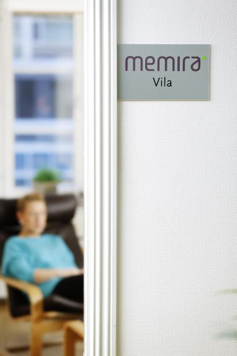 Hviler på Memira klinikken