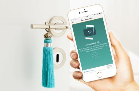 Lås ferieværelset op med din smartphone