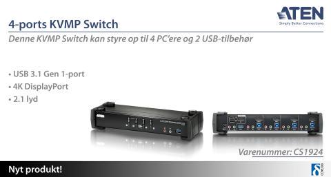 KVMP Switch med uovertruffen ydeevne