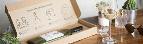 DS Smithin ja Garçon Winesin luomat pakkausratkaisut edistävät kestävää viinintuotantoa