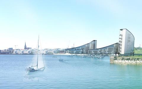 Tyréns med i arkitekttävling Kuststad Luleå