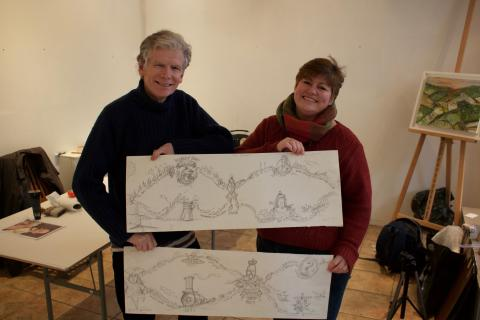 Platform for Change: New mural at Tunbridge Wells station to tell town's history