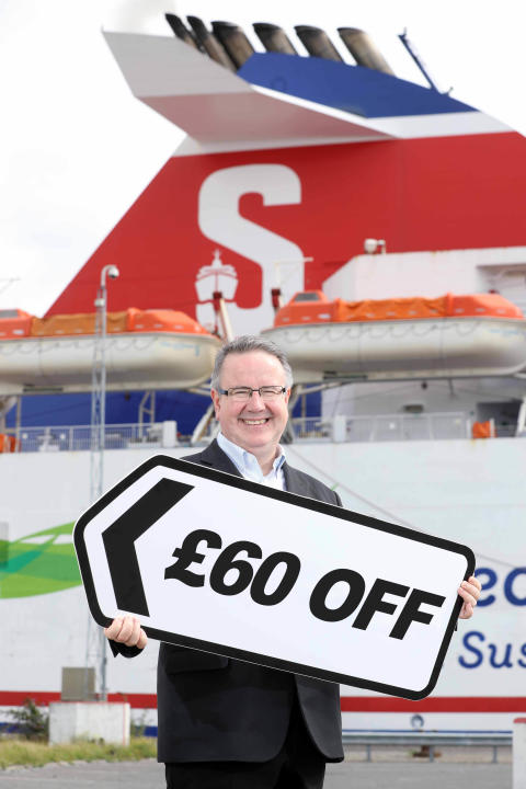 Sail, stay and save with Stena Line!