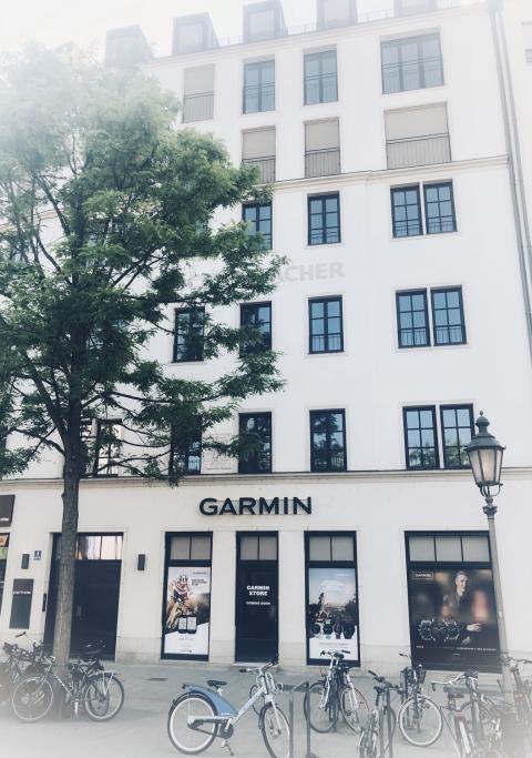 Garmin eröffnet Flagship-Store in München