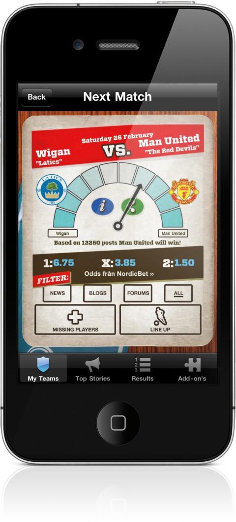 Appen för dig som älskar Premier League