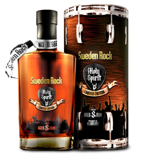 The Holy Spirit of Sweden  Rock Rhum Solera 8 Y.O