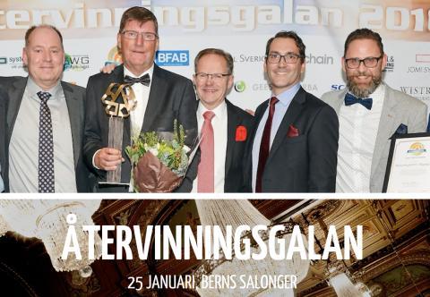 Swedish Recycling Award: Året som Årets Återanvändare