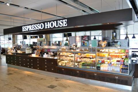 Ny Espresso House på Göteborg Landvetter Airport inrikes