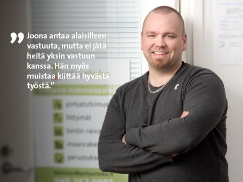 Etera palkitsi Pohjois-Suomen parhaan pomon – PohjanTeon Joona Österberg johtaa kuuntelemalla
