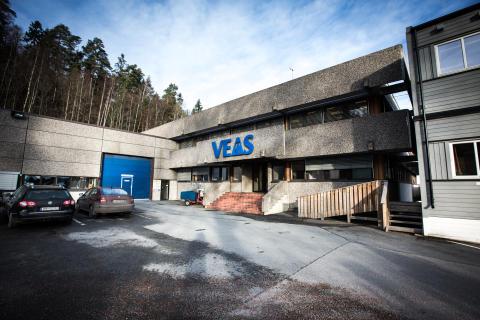 VEAS-anlegget ligger i fjellet på Bjerkås i Asker