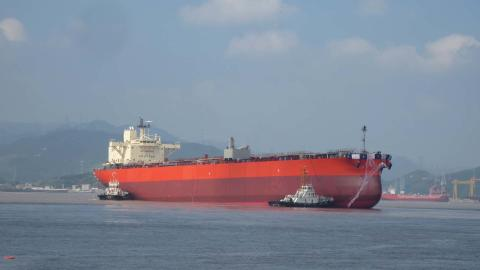 TSUNEISHI SHIPBUILDING Launches its First Completed LRI Product Tanker