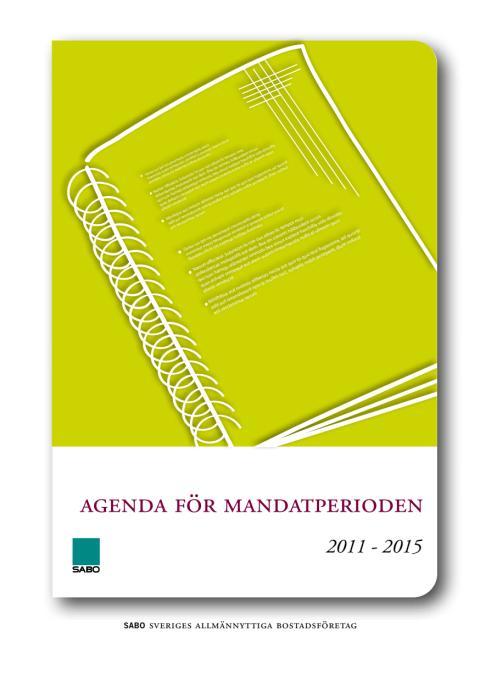 Agenda för mandatperioden 2011-2015