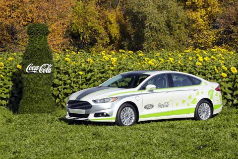 Ford Fusion Energi -hybridiauto hyödyntää PlantBottle –teknologiaa