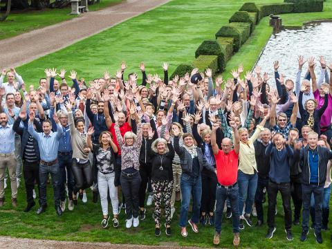 Vi är med på listan över Sveriges bästa arbetsplatser - i år igen!