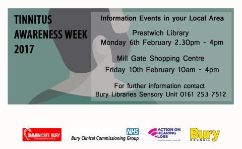 Events during Tinnitus Awareness Week