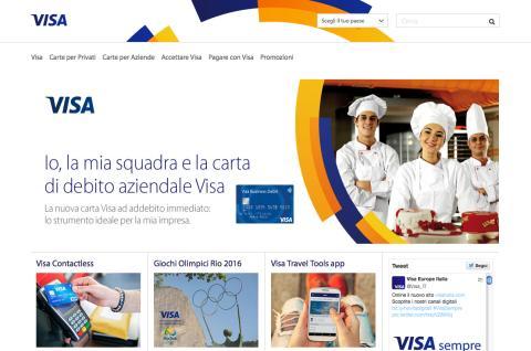 Visa Europe rinnova il sito istituzionale e apre nuovi canali social