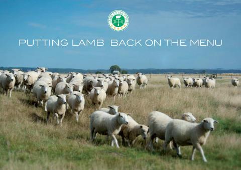 EBLEX 'PUTTING LAMB BACK ON THE MENU' WITH NEW CUTS