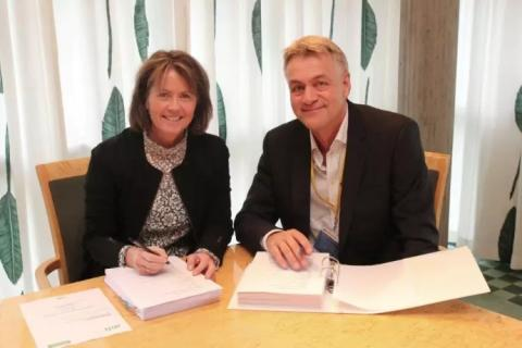 TDC og Norsk Tipping inngår storkontrakt: TDC sørger for at Lotto- og Tippekupongen er med i trekningen
