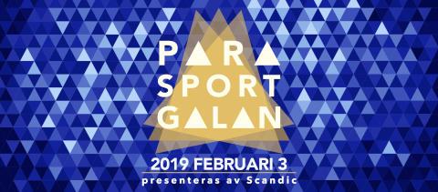 Tid för medieackreditering till Parasportgalan 2019